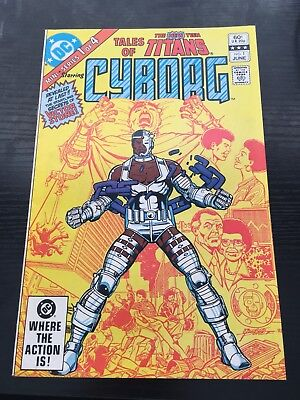 Tales Of Cyborg #1 Comic