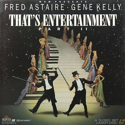 THAT'S ENTERTAINMENT PART II (THE) BOX NTSC LASERDISC Fred Astaire, Gene Kelly