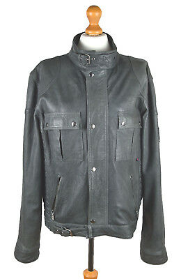 Belstaff Gold Label Leather Men's Jacket Size L