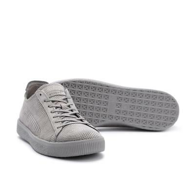 hot sales c5363 53908 PUMA X STAMPD Clyde Mens Suede Trainers - UK 11 - Light Grey - New