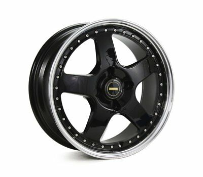 TOYOTA  CELICA RWD WHEELS PACKAGE: 17x7.0 17x8.5 Simmons FR-1 Gloss Black and Ku