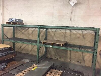 "Pallet Racking 2 sections 94"" Section Width 