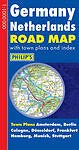 Germany Netherlands Road Map (Philip's Road Atlases & Maps), , Good Book