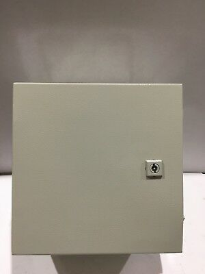 "HOFFMAN GSD303020GP1 AEGIS HINGED COVER ENLCOSURE 11.81"" x 11.81"" x 7.87"" NEW"