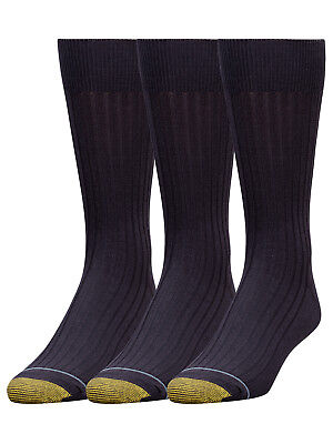 Gold Toe Men's Big & Tall Canterbury Extended Sock 3 Pack Style 794E
