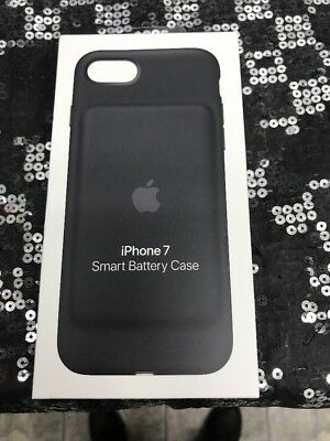 Apple MN002LL/A iPhone 7 Smart Battery Case Black NEW Sealed
