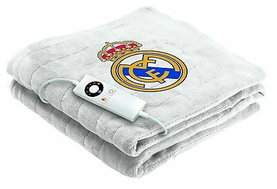 Manta Electrica Del Real Madrid 120 X 160 Cms