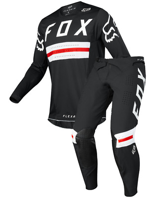 Fox Racing 2018 A1 Supercross LE Flexair PREEST MX Jersey and Pant - Red/Black