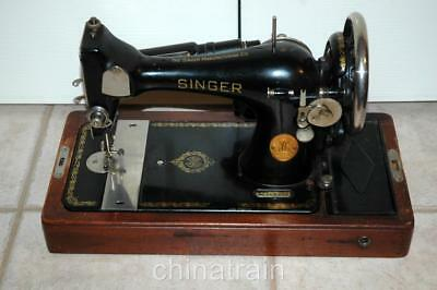 Singer #128 1939 Compact Heavy Duty Electric Sewing Machine