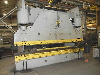 Used Cincinnati 500 Ton X 16' Hydraulic Press Brake Model: 500H