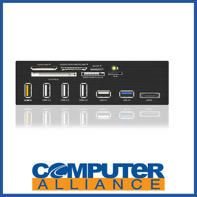 "ICY BOX IB-867-B 5.25"" USB 3.0 Multi Card Reader"