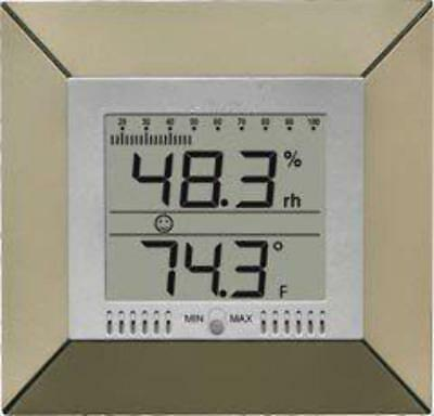 WS9410 Digital Wall Thermometer w/Humidity Bar Graph