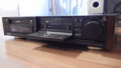 Sony EV-S3000 Video Cassette Recorder Editor Hi8 Digital/ HI-Fi Stereo