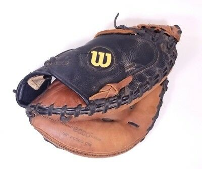 """WILSON A500 Youth Baseball Catchers Mitt Ecco Leather 32"""" A0500 CM Ships FAST!!!"""