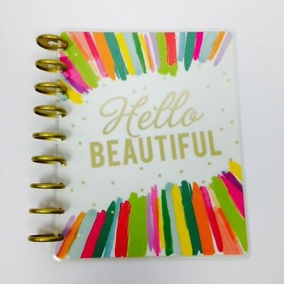 Happy Planner Cover Hello Beautiful Happy Mind Happy Life Use for arts and craft