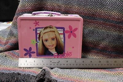 Barbie Pink Tin Lunchbox 90s
