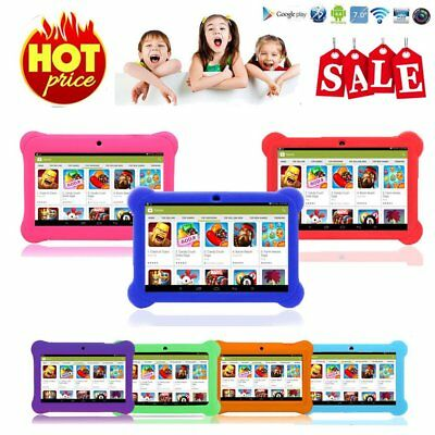 "7"" INCH KIDS ANDROID 4.4 TABLET PC QUAD CORE WIFI Camera 8 GB CHILD CHILDREN GD"