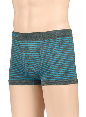 Knocker's Junior's Athletic Seamless Compression Boxer Briefs (6 Pack)-JPS-021