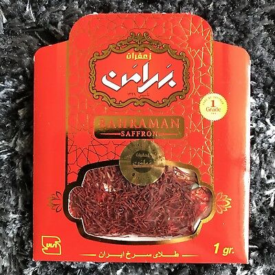The 100% Iranian quality saffron (1 Gram)