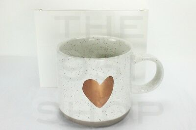 Starbucks Rose Gold Heart 12 fl oz Coffee Cup Mug with Valentine's Day Gift Box