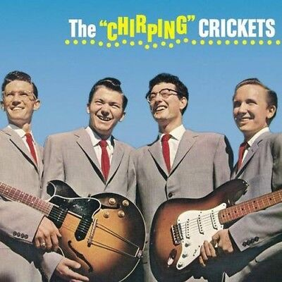 """The Crickets Buddy Holly The Chirping Crickets MONO 12"""" LP 33RPM 200gm A.P. New"""