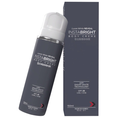 Luxxe White Reveal InstaBright Body Creme Lotion SPF 25