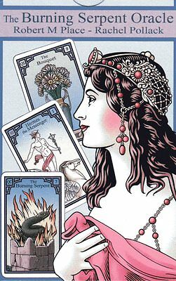 THE BURNING SERPENT ORACLE - A Lenormand of the Soul - Rachel Pollack NEW