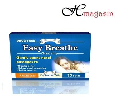 Easy Breathe Small/Medium Natural Nasal Strips - Pack of 30
