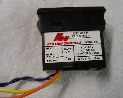 New digital hour meter - Made in the USA - Red Lion Controls - industrial module