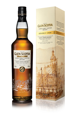 Glenscotia Double Cask Single Malt Scotch Whisky 700mL