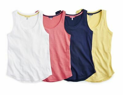 Joules Bo Basic Horse Riding Equine Sleeveless Cotton Lightweight Tank Vest Top