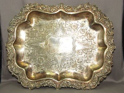 Very pretty decorative footed tray