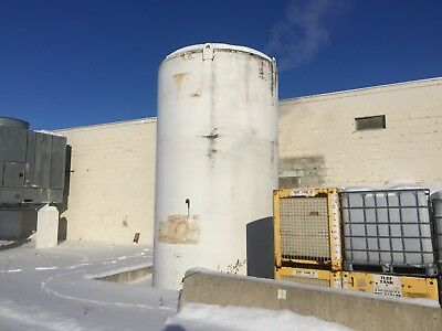 DCI 10,000 Gallon Stainless Jacketed Insulated Tank Silo Bin Cold Hot Storage