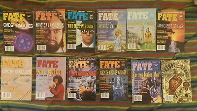 Fate Magazines Full Year 1992