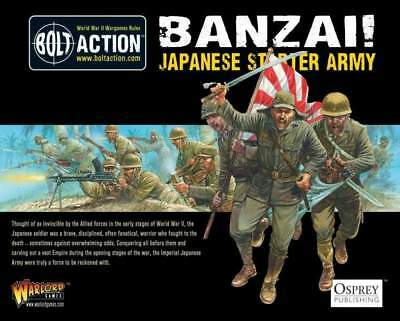 Warlord Games - Bolt Action Banzai! Japanese Starter Army (1000 Punkte Armydeal)