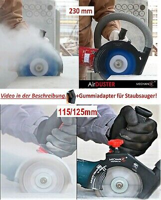 mechanic air duster winkelschleifer absaughaube 230mm eur 42 00 picclick de. Black Bedroom Furniture Sets. Home Design Ideas