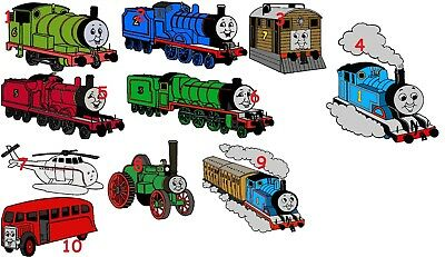10 Thomas The Tank Engine And Friends  Wall Sticker 3 Sizes Vinyl / Photopaper