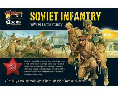 Warlord Games - Bolt Action - Soviet Infantry plastic box set (40)