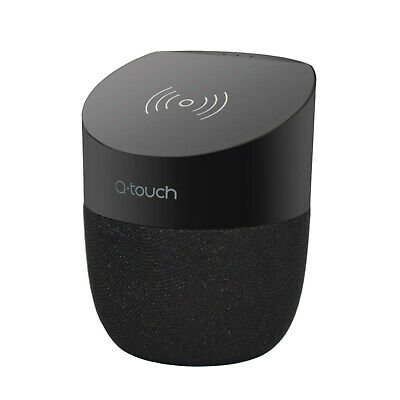 Qtouch 2in1 Bluetooth Speaker + Qi Wireless Charger Charging Hands-Free Talking