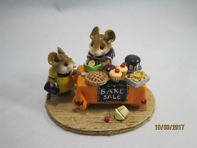 Wee Forest Folk Mousey's Bake Sale Ltd Edition Halloween Special - WFF Box