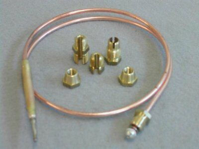Universal Thermocouple 600Mm Long With Threaded End Free Uk Carriage