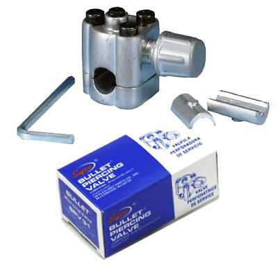 BPV31 BPV-31 Genuine SUPCO Bullet Piercing Valve 3 in 1 fridge freezer