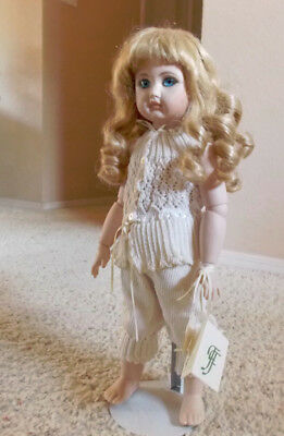 French Bisque Doll from the Faery Forest Studios