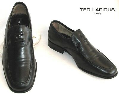 Ted Lapidus - Shoe all Leather Black 40 - Excellent Condition