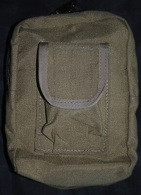 New Coyote Brown Tactical Tailor Zipper Utility Molle Pouch Seal Devgru Nswdg
