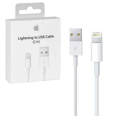 Original 2M 6 FT Lightning USB Charger Cable For Apple iPhone X 8 7 6s Plus 5 CE