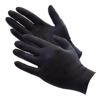 Gloves BBQ Heat Resistant Black Nitrile 100 Pack X Large (PIT MASTERS CHOICE!)