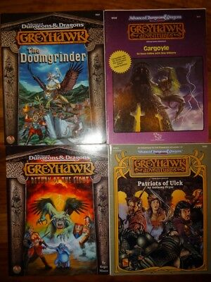 GreyHawk - good to very good condition - (AD&D, TSR 9591, 9251, 9576, 9385)