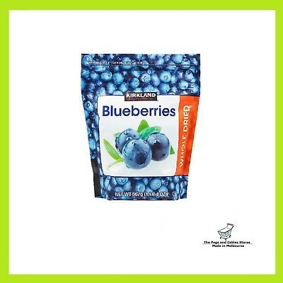 Kirkland Whole Dried Blueberries 567g