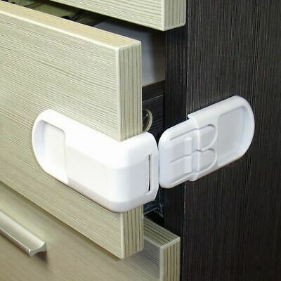 10Pcs Drawer Lock for Children Safety Baby Door Safety Prevent Open Cabinets Pro